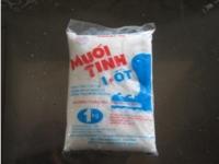 Muối tinh I-ốt 0,8kg, 1kg