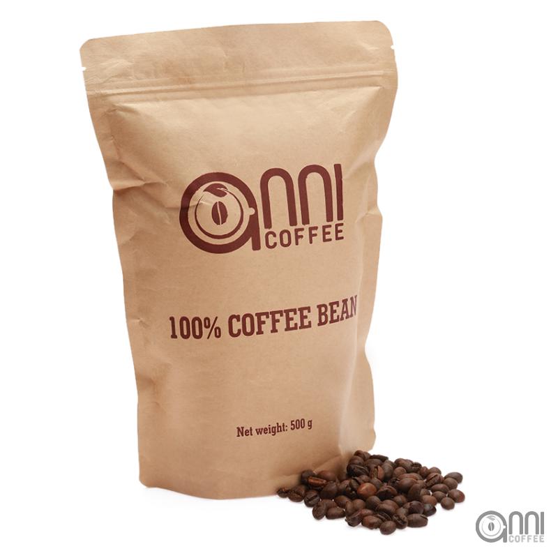 Cà phê hạt 100% Robusta