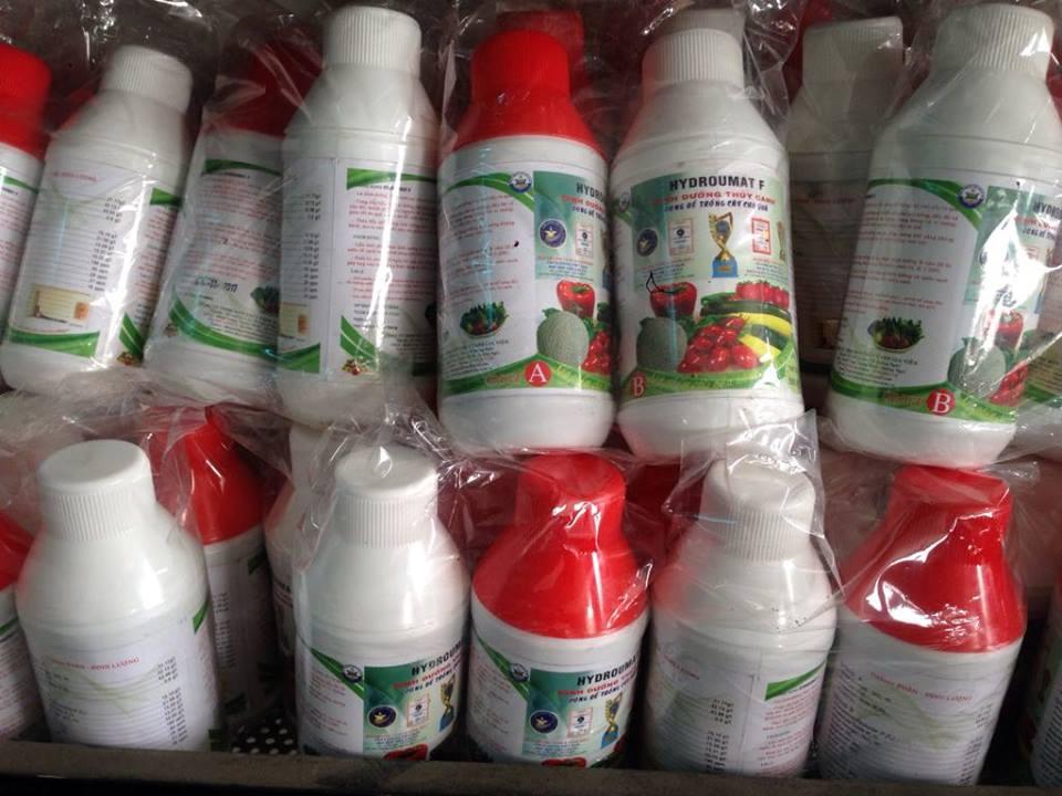 Dinh dưỡng thủy canh cho cây ăn quả Hydro Umat F