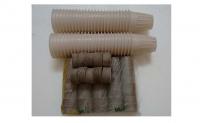 50 viên nén Phước Lộc-Tiền Giang và 50 rọ nhựa thủy canh 6.5x6.5cm
