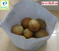 Túi vải trồng cây 35x35cm, kích thước thực đo > 35x35cm