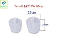 Túi vải trồng cây DxH 25x20cm (kích thước thực > 25x20cm)