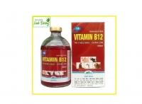 Vitamin B12 hộp 50ml - Trị thiếu máu, chậm lớn cho động vật, Giải độc cho cây!