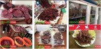 thịt trâu gác bếp Đặc sản Tây Bắc chuẩn
