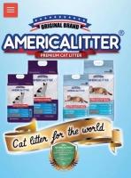 Cát vệ sinh cho mèo AMERICA Litter. (10 lít 8kg)