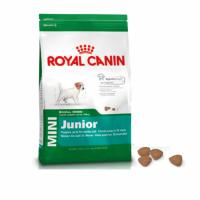 ROYAL CANIN MINI JUNIOR dành cho chó con từ 0 đến 10kg và từ 2 đến 10 tháng tuổi.