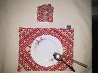Lót đĩa hoa tuyết - LD01