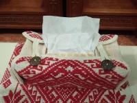 Hộp đựng giấy ăn hoa tuyết - HG01