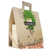 Hạt Điều Rang Muối Có Vỏ Lụa Set quà tặng gồm 2 hộp 500gr