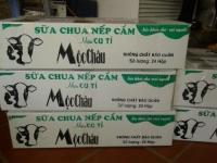 Sữa chua nếp cẩm Mộc Châu