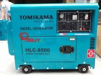 Máy phát điện Tomikama 8500 nhiên liệu diesel giá siêu khuyến mại