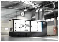 Máy phát điện Diesel AtlasCopco QIS-Máy công nghiệp (có vỏ)