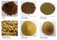 Bán nguyên liệu thức ăn chăn nuôi ddgs, bã nành, cám gạo trích ly, bắp hạt, corn gluten, ..........