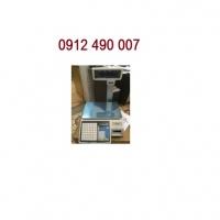 Cân siêu thị ATS-F5000 in mã vạch, cân bán hàng cân tính tiền