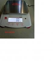 Cân điện tử SPX 6201 Ohaus ( 6100g/0.1g), Cân điện tử ohaus