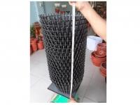 20 Chậu nhựa giả gỗ trồng lan fi 35
