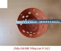 50 CHẬU GIẢ ĐẤT TRỒNG LAN FI 14,5cm