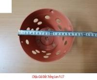 50 CHẬU GIẢ ĐẤT TRỒNG LÀ FI 17cm