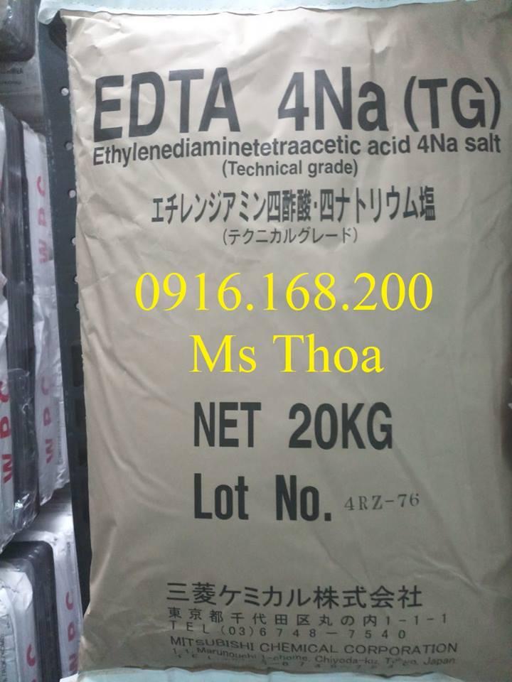 Chuyên cung cấp nguyên liệu EDTA Nhật 4Na giúp khử kim loại nặng