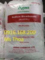 Soda lạnh (Sodium Bicarbonate) giúp tăng kiềm