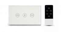 Công Tắc Thông Minh Cảm Ứng 3 Nút Điều Khiển Rèm Cửa SWC Có Kèm Remote