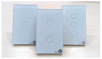 Công Tắc Cảm Ứng Thông Minh Có Phản Hồi Công Suất Cao SmartZ SW100E 1 Nút/2 Nút/3 Nút