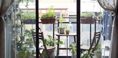 Ban công xanh - mang đến không gian sống gần gũi với thiên nhiên cho ngôi nhà của bạn
