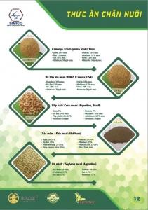 SIMICO Chuyên cung cấp Nguyên liệu, phụ gia sản xuất Thức ăn chăn nuôi