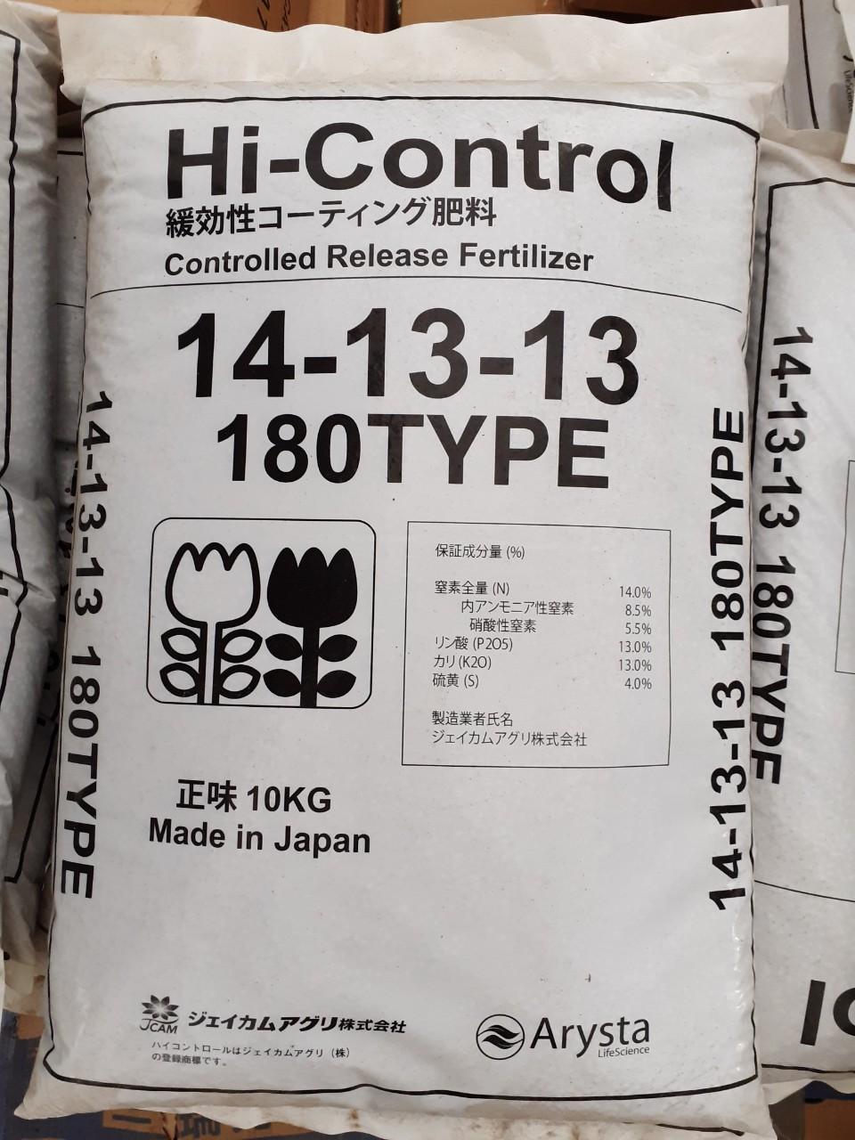 HI-CONTROL 14-13-13 180 TYPE, Tối Ưu Hóa Lương Dưỡng Chất Cho Cây , Trọng Lượng 10kg