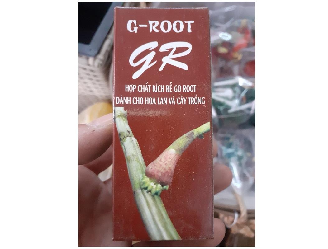 GR Hợp Chất Kích Rễ G-ROOT Dành Cho Hoa Lan Và Cây Trồng, Chai 30ml