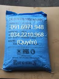 Bán khoáng tạt ao nuôi CaCl2-canxi clorua nguyên liệu Ấn Độ cho tôm cá giá sỉ