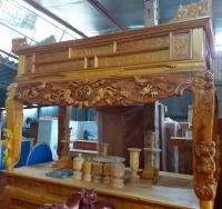 Sập Thờ gỗ Mít ta (chân 14cm)