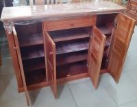 Tủ giầy 4 buồng gỗ Xoan Ta