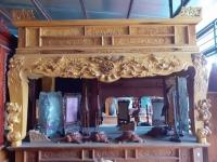 Sập thờ gỗ Mít ta (chân 16cm)