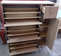 Tủ giày thông minh gỗ Xồi