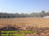 thanh nẹp nhà màng, hướng dẫn thi công nẹp zic zac cho nhà màng, cách thi công nẹp zic zắc cho nhà lưới trồng rau