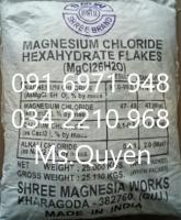 Khoáng tạt MgCl2-magie clorua Ấn Độ cho tôm cá giá sỉ