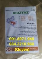 Bán Biozyme-enzyme tăng trọng Hàn Quốc cho tôm cá nhanh lớn, giá tốt