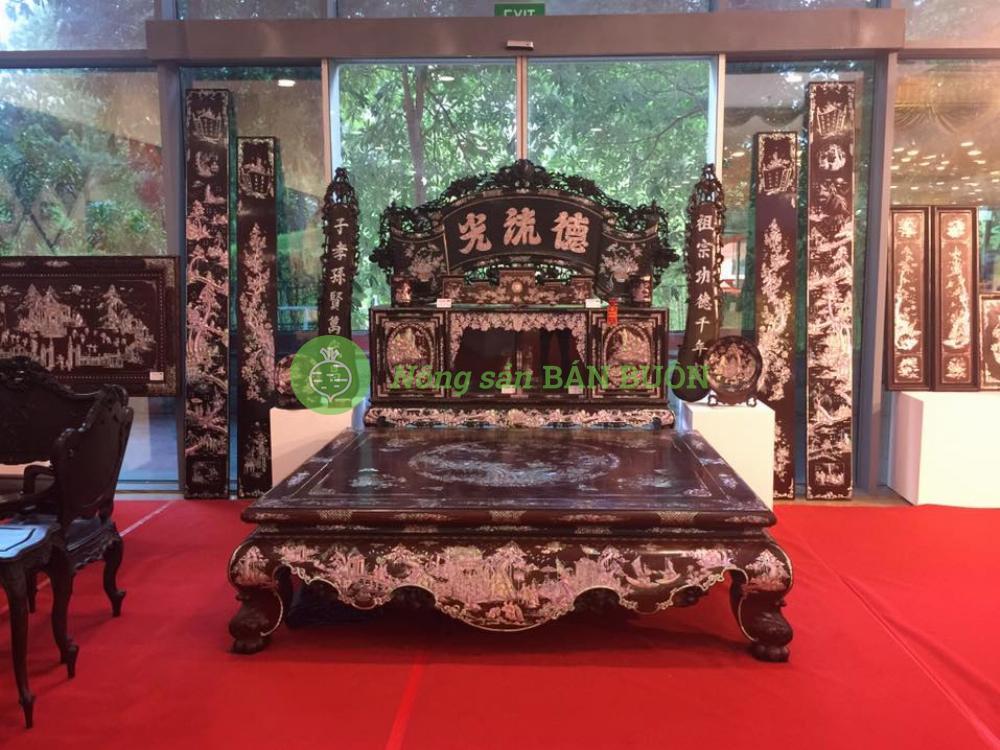 Đồ gỗ thủ công mỹ nghệ cổ truyền Nam Định