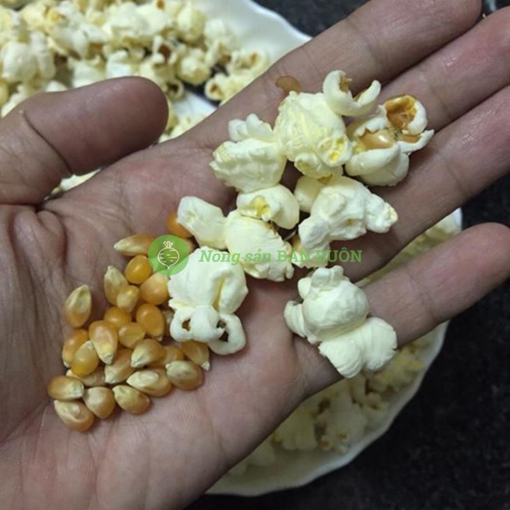 Bắp hạt nổ Mỹ  -  Làm bấp rang bơ