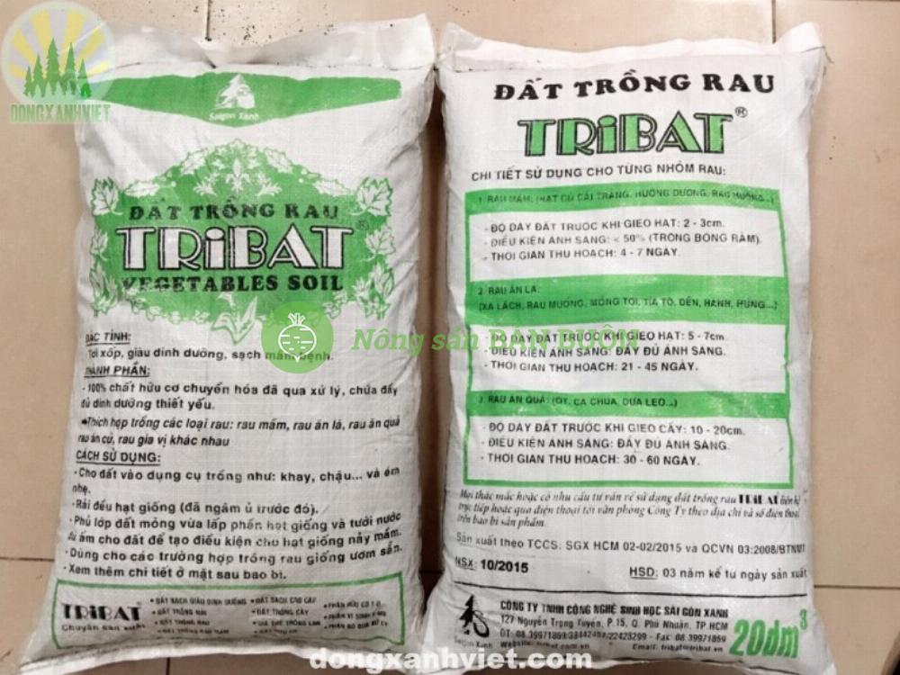 Đất sạch Tribat cao cấp