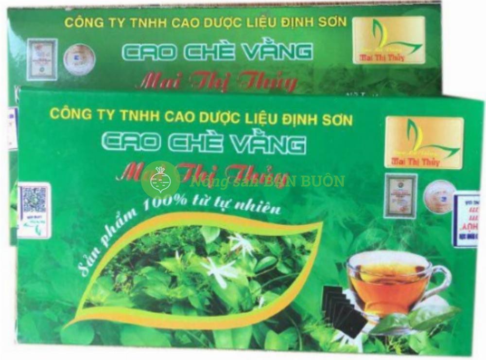 Cao Chè Vằng Định Sơn Mai Thị Thủy