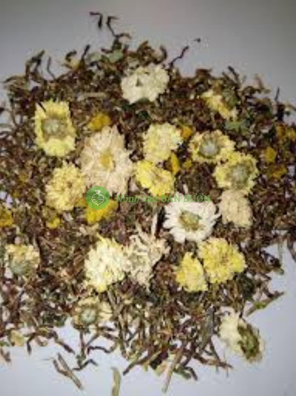 Trà Hồng Sâm hoa cúc