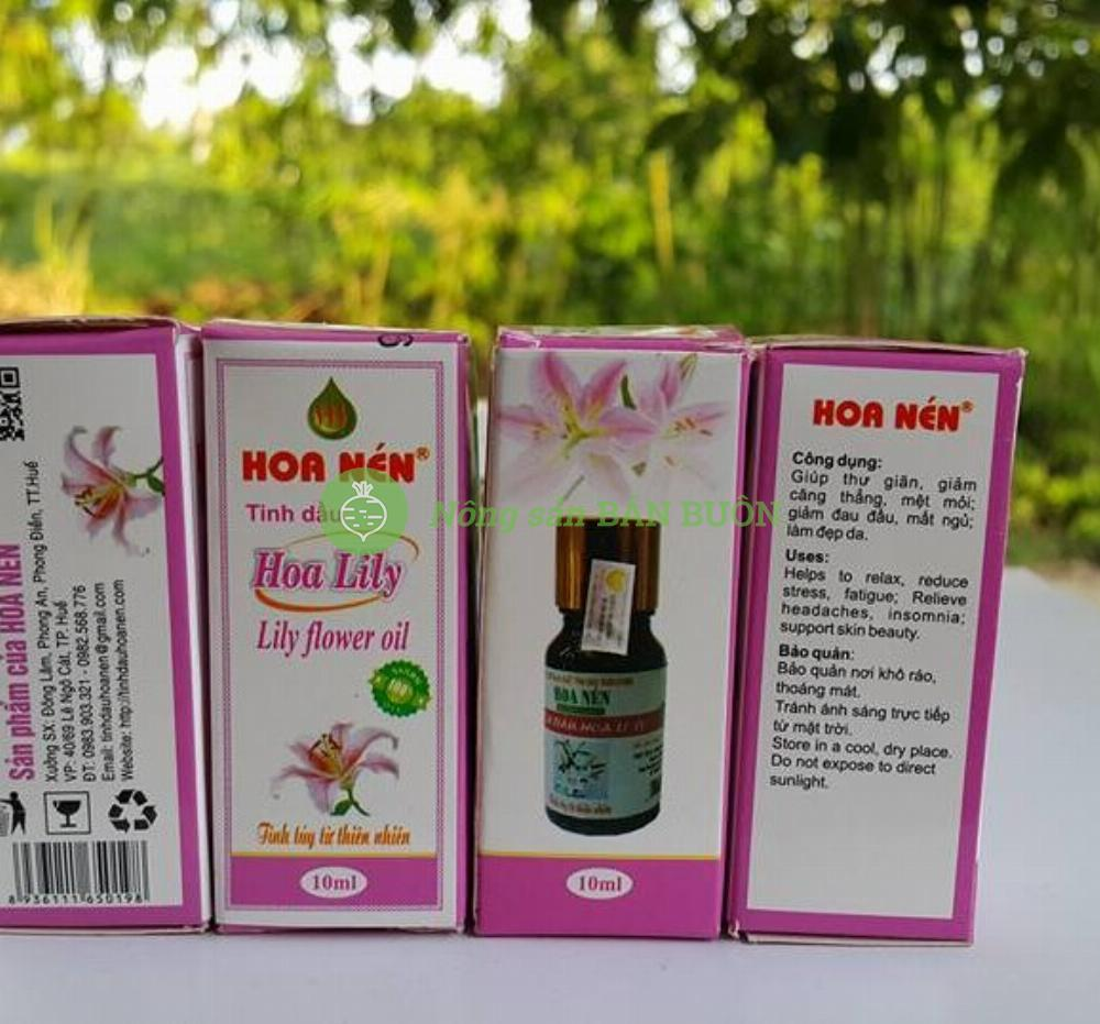 TINH DẦU HOA LY – LILY PURE ESSENTIAL OIL