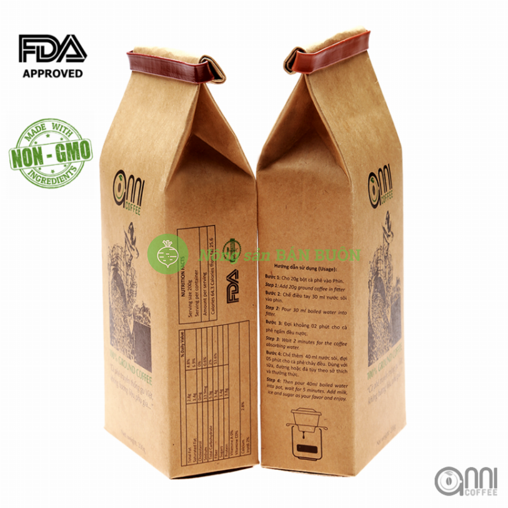 Cà phê bột anni 200g -Anni coffee