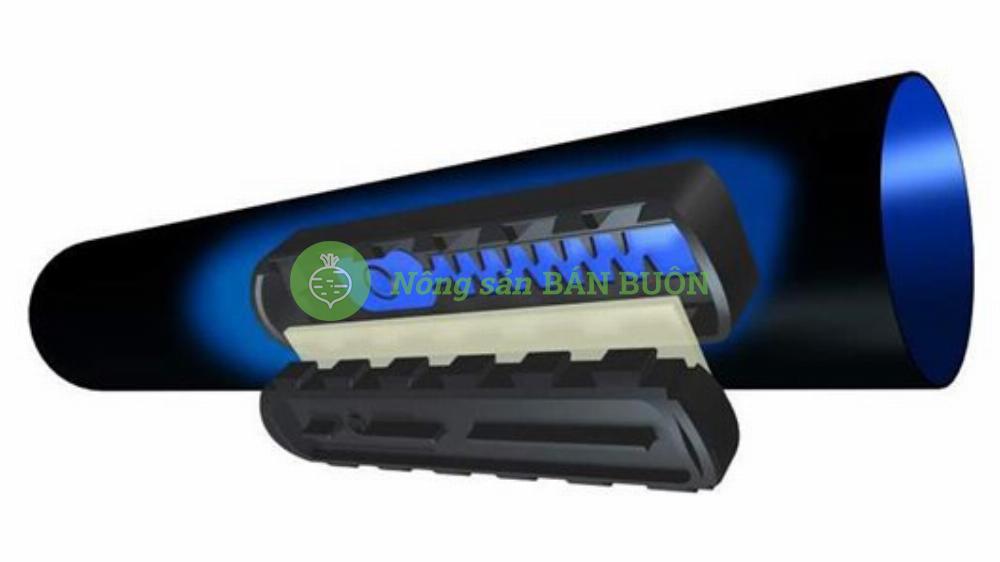 Đường ống tưới nhỏ giọt bù áp - Uniram