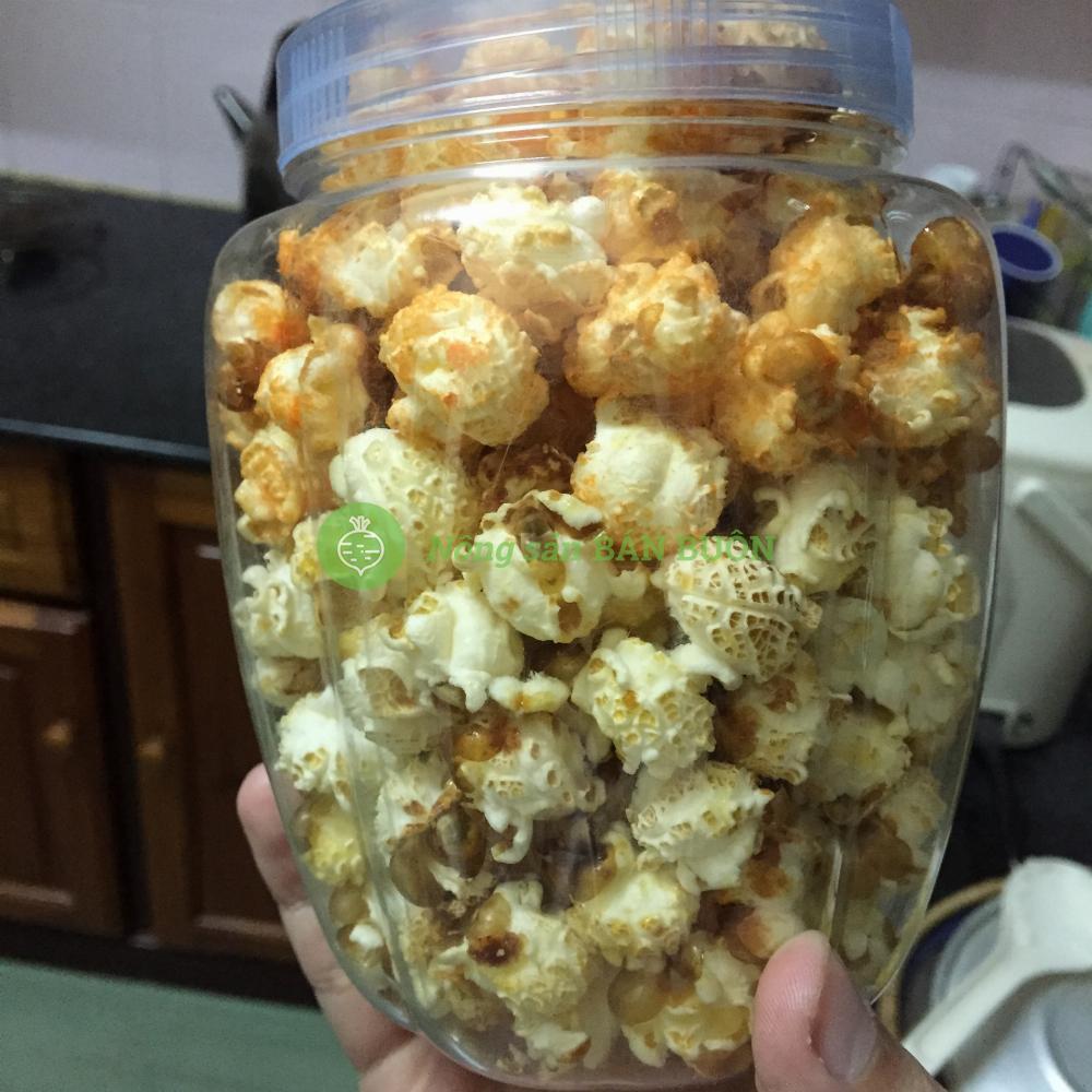 Bắp hạt nổ Mỹ - Hình nấm - Mushroom popcorn -  làm bấp rang bơ