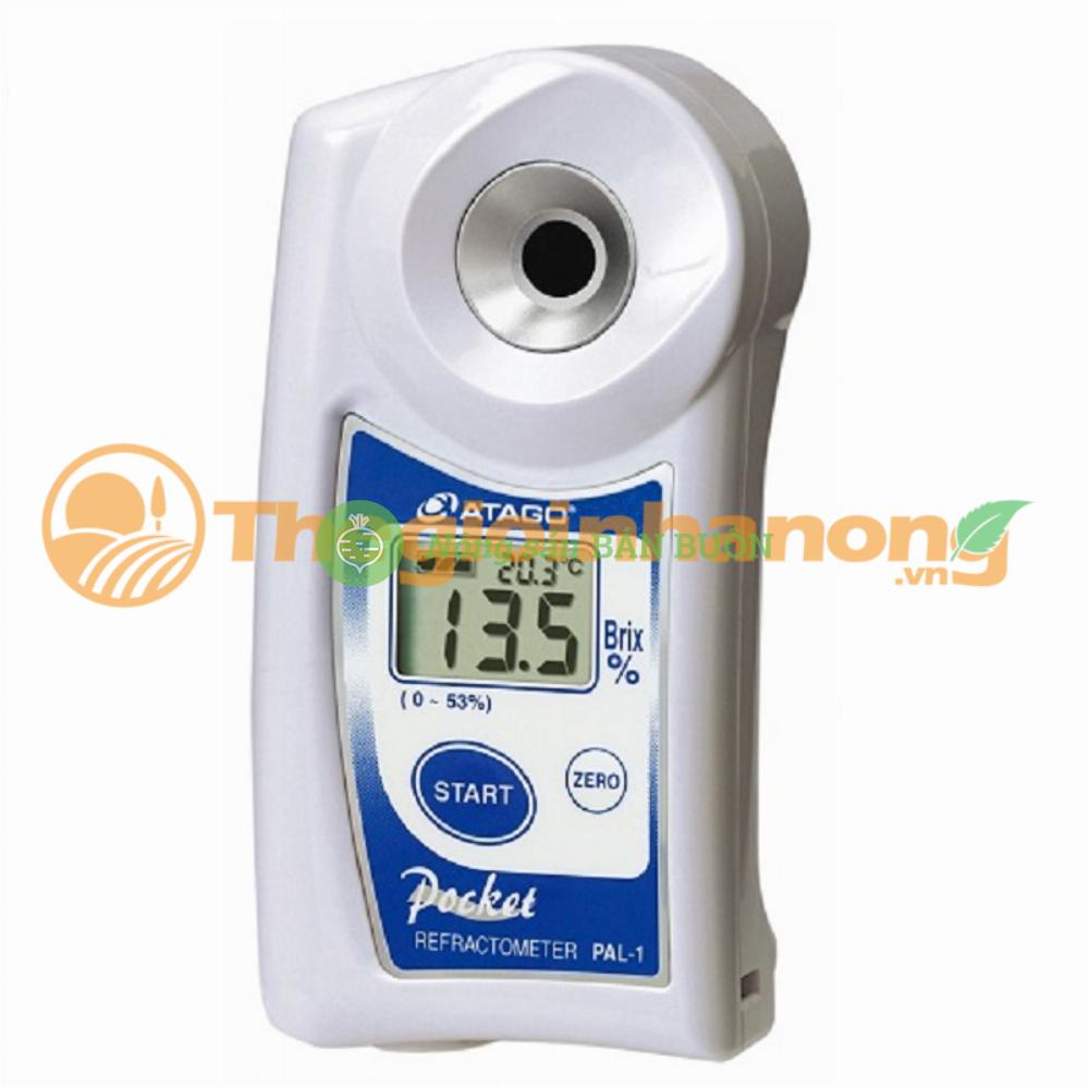 Khúc xạ kế đo độ ngọt brix ATAGO PAL-1