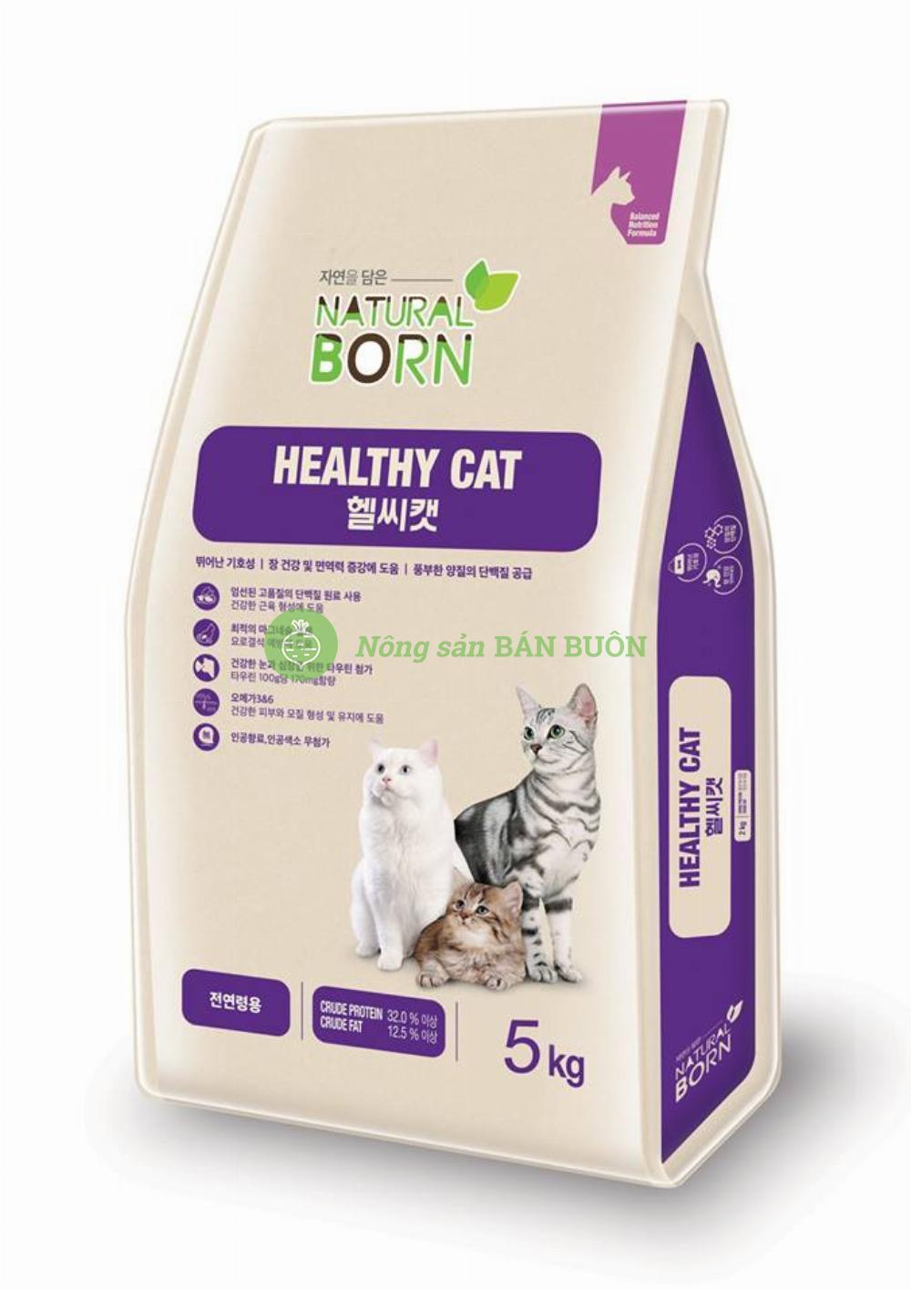 Thức ăn cho mèo của Hàn Quốc Healthy Cat