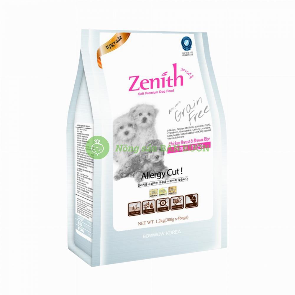 Thức ăn hạt mềm chó nhỏ Zenith